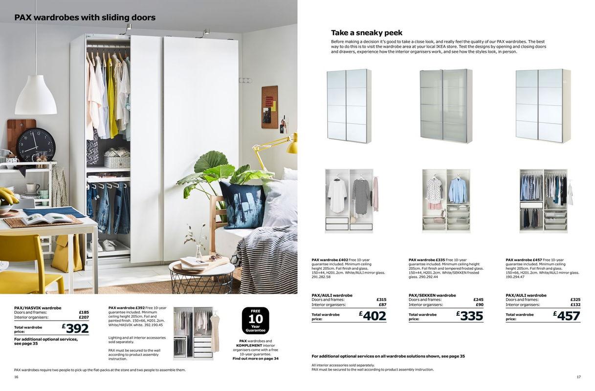 IKEA Wardrobe Brochure 2018 - Weekly Offers Online