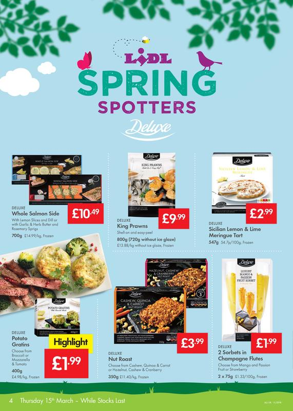 LIDL Offers Leaflet 15th-21st March 2018 - Weekly Offers Online